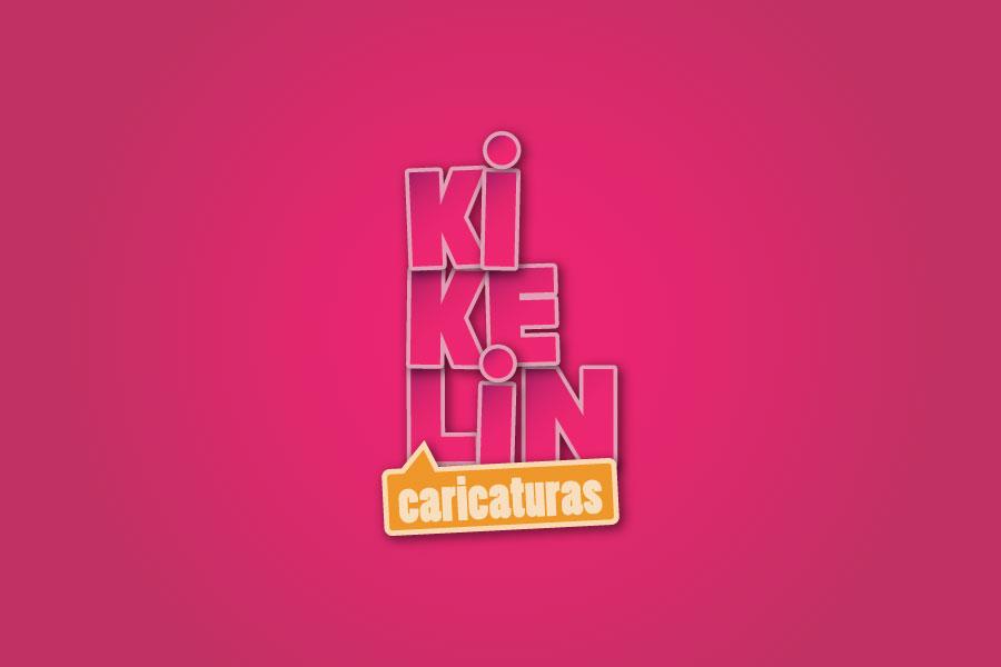 Logo Kikelin caricaturas