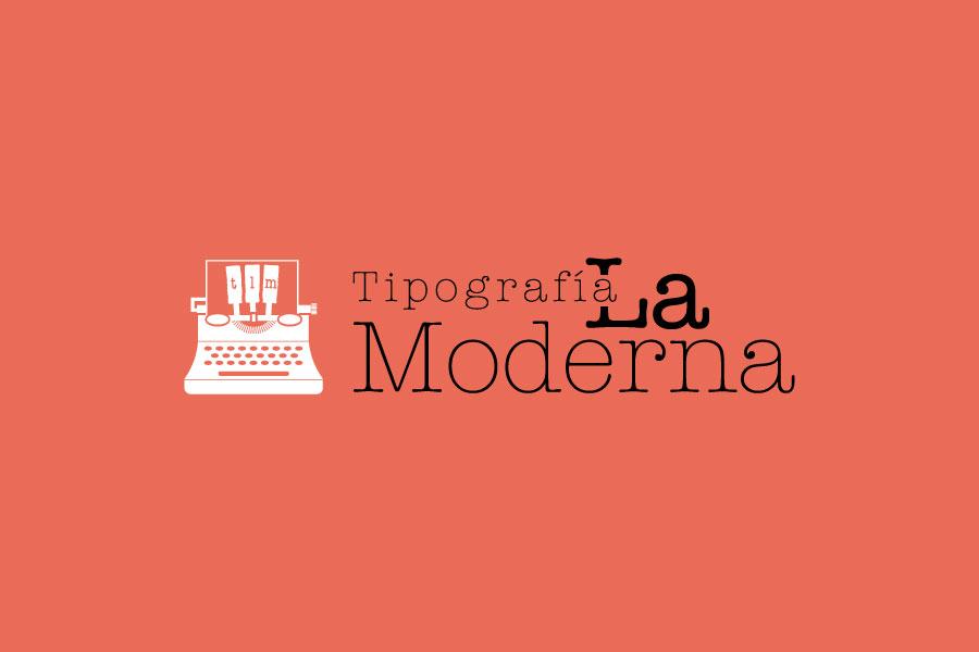 Logo Tipografía la Moderna