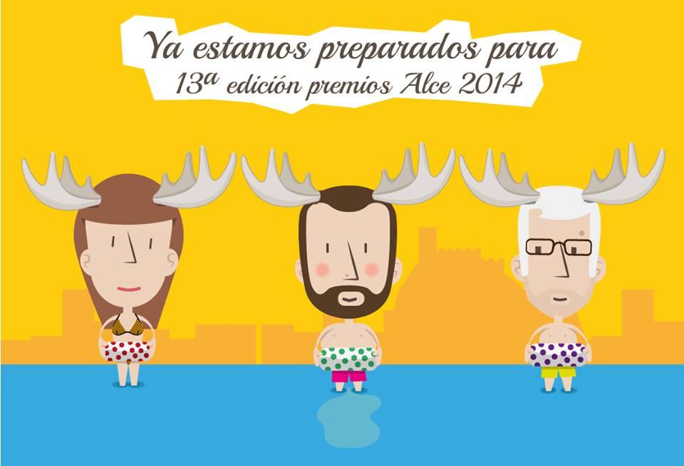 Panda Creatiu en los Premios Alce 2014