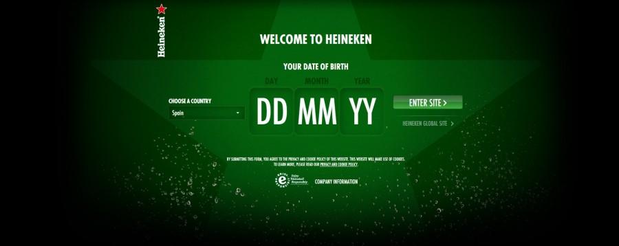 Landing Heineken